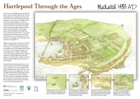 Medieval Hartlepool Poster